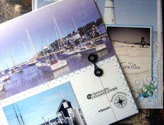 New england coastline pages sneak peek together