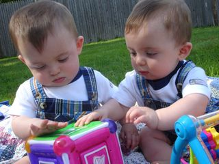 Braeden and brody playing