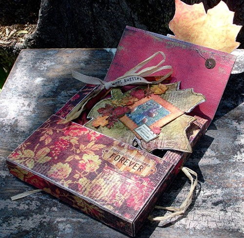 Harvest Box and Leaf Book
