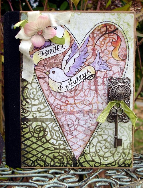 Love Struck Altered Book