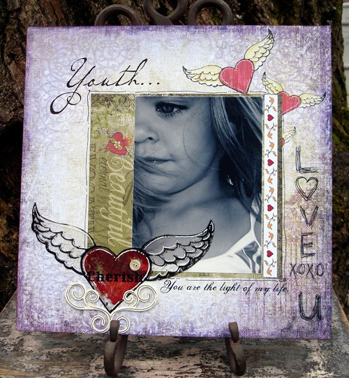 {Youth} Marah Johnson Love Struck by Creative Imaginations