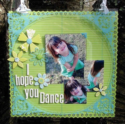 {I hope you dance}  front view
